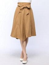 リボン付きアシメスカート