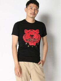 KENZO (M)CNY20 Classic Tiger Tee M ケンゾー カットソー Tシャツ ブラック レッド【送料無料】