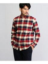 ブロックチェックBDシャツ
