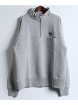 BEN DAVIS/HIGH ZIP SWEAT