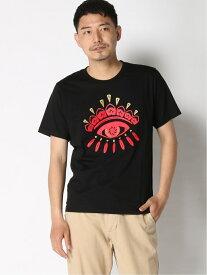 【SALE/30%OFF】KENZO (M)CNY20 Classic Eye Tee M ケンゾー カットソー Tシャツ ブラック【送料無料】