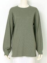 Cotton Wool Jersey Puff Sleeve Tunic