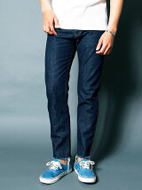 NO.35 SLIM WASHED CUT OFF DENIM
