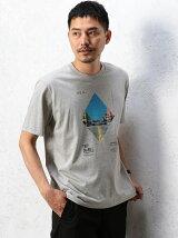 BC BT SQ PHOTO プリント Tシャツ