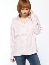 リラックスルーズシャツ