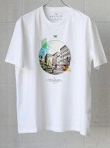 BC BT CIRC PHOTO プリント Tシャツ