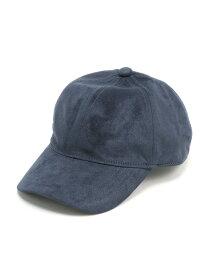 【SALE/75%OFF】LEPSIM FスウェードCAP レプシィム 帽子/ヘア小物 キャップ ネイビー ブラウン グレー ブラック