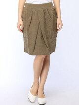 IEDIT/コクーンカットソージャカードスカート