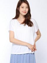 Lugnoncure/刺繍フレンチカットソー
