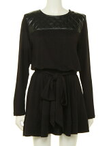 Visco&leather dress