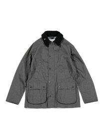 Barbour 別注BEDALE SL DENIM LIKE ナノユニバース コート/ジャケット ブルゾン ブラック【送料無料】