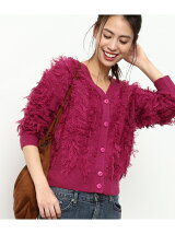 【2WAY】フリンジ編みカーディガン