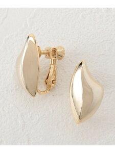 Couture brooch モードメタルイヤリング クチュールブローチ アクセサリー イヤリング ゴールド