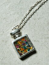 Flower perfume necklace