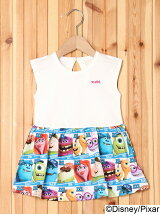 MONSTERS UNIVERSITY DRESS(2T~3T)/ワンピース