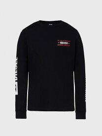 【SALE/40%OFF】DIESEL T-DIEGOS-LS-K40 ディーゼル カットソー Tシャツ ブラック ホワイト ネイビー【送料無料】