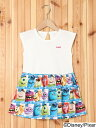 【SALE/40%OFF】X-girl Stages MONSTERS UNIVERSITY DRESS(4T~7T)/ワンピース エックスガールステージス ワ...