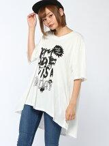 NEW DAY 変形Tシャツ
