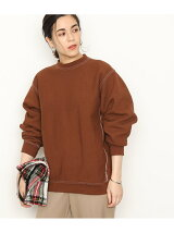 【CAMBER for ADAM ET ROPE'】CREW NECK SWEATSHIRT