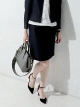 ○UBBT P/C LENO タイトスカート