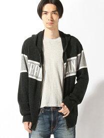 【SALE/70%OFF】nudie jeans FRANKLIN&MARSHALL/(M)ニットカーディガン ヌーディージーンズ / フランクリンアンドマーシャル ニット カーディガン ブラック ネイビー【送料無料】