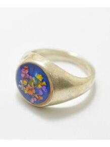 Flower pinke ring