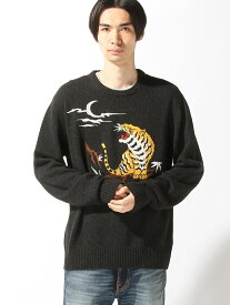 【SALE/70%OFF】nudie jeans FRANKLIN&MARSHALL/(M)ニット ヌーディージーンズ / フランクリンアンドマーシャル ニット 長袖ニット ブラック ネイビー【送料無料】