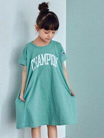 UNITED ARROWS green label relaxing 【キッズ】〔別注〕CHAMPION(チャンピオン)ロゴワンピース ユナイテッドアローズ グリーンレーベルリラクシング ワンピース