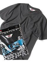 BEN DAVIS white label(M)ベーシッククルーネック半袖Tシャツ/ナノテック加工