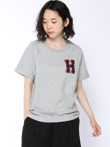 (W)ロゴボアTシャツ