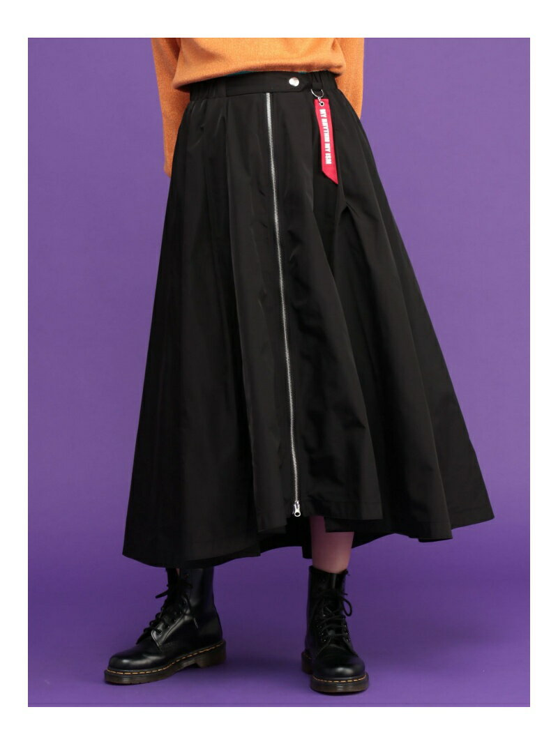 【SALE/26%OFF】jouetie MA-1ミディスカート ジュエティ スカート【RBA_S】【RBA_E】【送料無料】