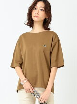 LACOSTE × B:MING by BEAMS / 別注 バックスリット Tシャツ 20SS ビームス