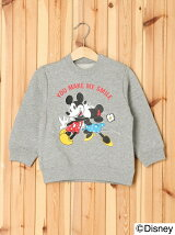 DISNEY/CREWNECK SWEAT SMILE(12M~3T)