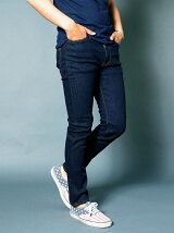 NO.60 SUPER SKINNY WASHED INDIGO DENIM
