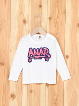 ANAP KIDSグラフィティプリントロンTee
