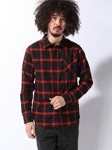 (M)オンブレチェックシャツ