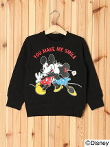 DISNEY/CREWNECK SWEAT SMILE(4T~7T)