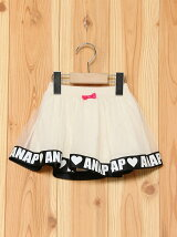 ANAPKIDSチュール&リボンスカート(インナーパンツ付き)