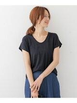 リネンコットンTシャツ