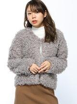 RETRO GIRL/リングファーショートJK