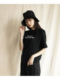 【SALE/73%OFF】eversince WhateverロゴプリントTee(バックプリント) エバーシンス カットソー Tシャツ ブラック グレー ネイビー ブルー ホワイト イエロー