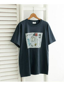 【SALE/60%OFF】URBAN RESEARCH 【別注】LeftyArt×URBAN RESEARCH T-SHIRTS wardrobe アーバンリサーチ カットソー Tシャツ ホワイト