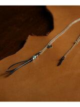 Snake&Leather Tassel Nk