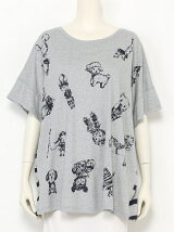 【L size】【FL5】スケッチTOYゆったりTシャツ