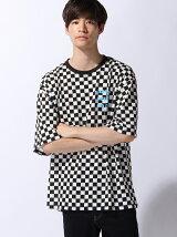 (M)パターンプリントBIG Tシャツ