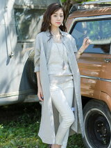 LINEN COTTON SHIRT ONE PIECE