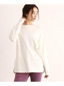 OZOC [洗える]長袖レイヤードTシャツ オゾック カットソー Tシャツ ホワイト ブラック ブラウン
