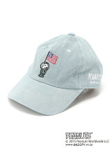 PEANUTS/(W)SNP SPACE DENIM BB CAP