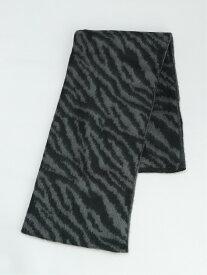 LOWRYS FARM アニマルJQDストール ローリーズファーム ファッショングッズ ストール ブラック ブラウン