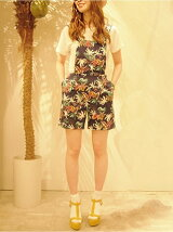 【×Miss Patina】TROPICAL OVERALL